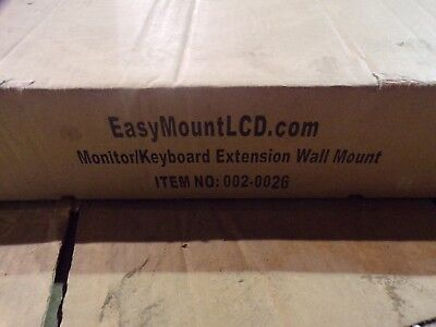 $146.99 • Buy NEW  Easy Mount Monitor/Keyboard Extension Wall Mount 002-0026 *FREE SHIPPING*