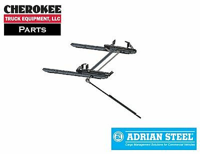 $1251.45 • Buy Adrian Steel DD61PMHEXT, Single Curbside Ladder Rack ProMaster High Roof 159 EXT