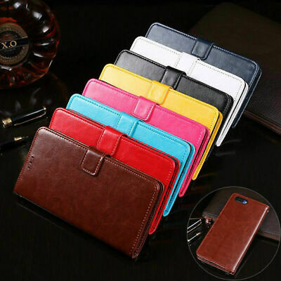 AU4.99 • Buy For Oppo AX5 A3s A73 A57 Wallet Case Leather Flip Card Shockproof Stand Cover