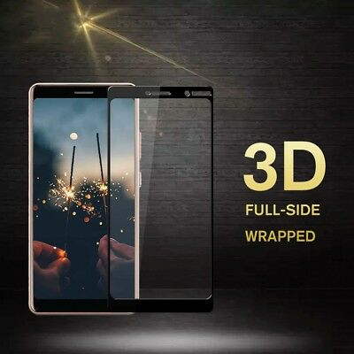 AU3.36 • Buy 3D Curved Tempered Glass Screen Protector Guard Film For Nokia 6/7 Plus X5 6.1
