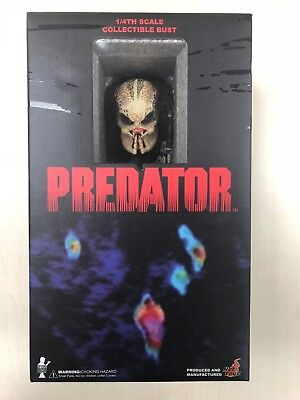 AU411.36 • Buy Hot Toys HTB 02 Predator Bust 10 Inches Tall 1/4 Scale NEW