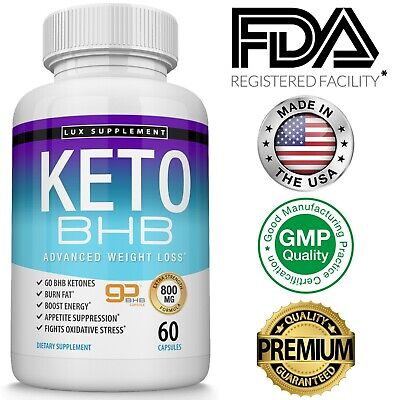 $16.97 • Buy Keto Diet Pills BHB Best Ketogenic Carb Blocker Advanced Weight Loss Supplement