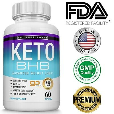 $17.97 • Buy Keto Diet Pills BHB Best Ketogenic Carb Blocker Advanced Weight Loss Supplement