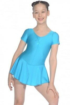 £10.99 • Buy ROCH VALLEY SKIRTED LEOTARD GIRLS ISTDSS Kingfisher Size 3 Age 9-11 Majorettes