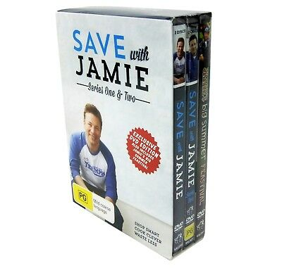 AU36.53 • Buy Save With Jamie Series 1 & 2 Dvd Exclusive One & Two Editions New Sealed + Bonus