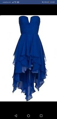 Ruby Ray Handkerchief Dress Size 12 Stunning Dress Ball Gown, Wedding, Party • 39.99£