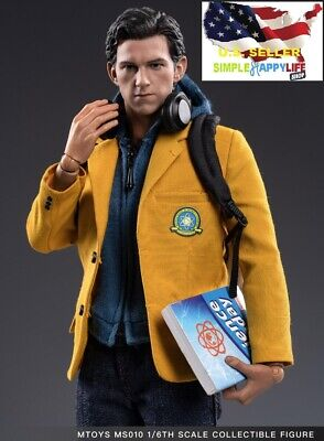 AU191.49 • Buy 1/6 Spiderman Figure Homecoming School Uniform For MTOYS MS010 ❶USA IN STOCK❶