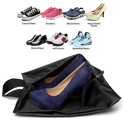 AU10.44 • Buy Shoe Bags Travel Accessories(2/4/6/8-Pack) Waterproof Nylon With Zipper For Men
