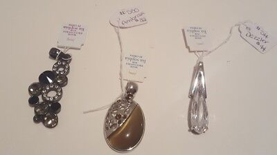 $ CDN36.41 • Buy Lia Sophia Lot Of 3 Pendants NWT