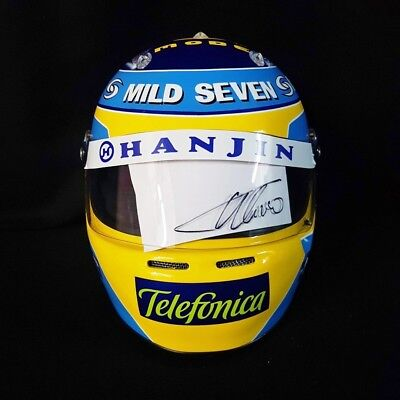 FERNANDO ALONSO 2006 SIGNED Autographed F1 Helmet Full Size 1/1 Scale Display • 1,656.73£