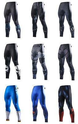 Mens Compression Superhero Bottom Base Layer Leggings Gym Long Running Thermal  • 13.99£