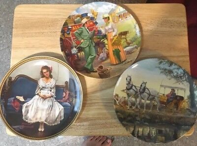 $ CDN37.49 • Buy Edwin M. Knowles 1854 Norman Rockwell Collectors Plate Lot. 12 Plates. (Lot #3)