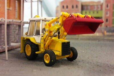 JCB 3CX 3C Excavator Digger 1:76 OO/00 Oxford Hornby Bachmann Scenecraft Model • 32£