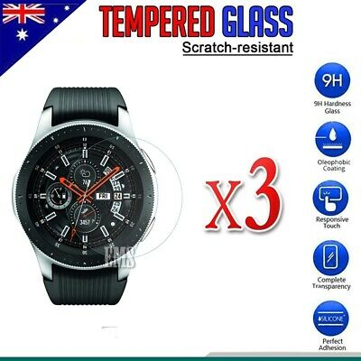 AU5.85 • Buy [3 Pack] Samsung Galaxy Watch 42mm / 46mm S2 S3 Tempered Glass Screen Protector