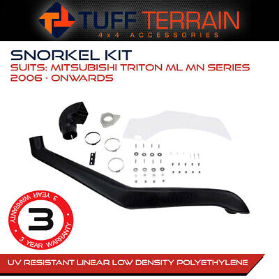 AU129.99 • Buy Snorkel Kit Air Intake For Mitsubishi Triton ML MN 2006 - Onwards 4WD Diesel