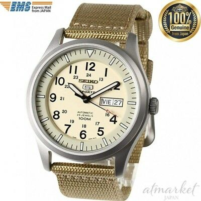 $ CDN248.80 • Buy SEIKO Watch 5 MILITARY AUTOMATIC Military Automatic SNZG07K1 Men's From JAPAN