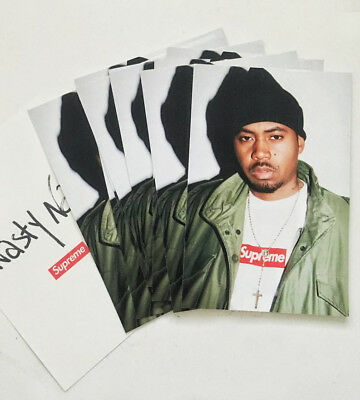 $ CDN119.33 • Buy New Supreme Nasty Nas Sticker Pack Lot (10 Stickers) Lowest Price On Internet