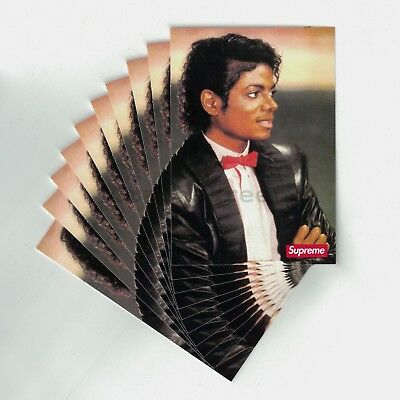 $ CDN119.33 • Buy Supreme Michael Jackson MJ Sticker Pack Lot (10 Stickers) Lowest Price On Net