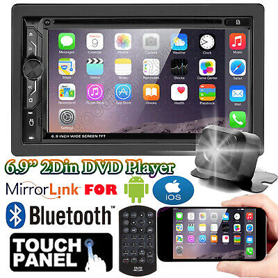 $166.81 • Buy 2 Din CAR CD DVD Stereo Player + Backup Camera For 2005-15 FORD F250/350/450/550