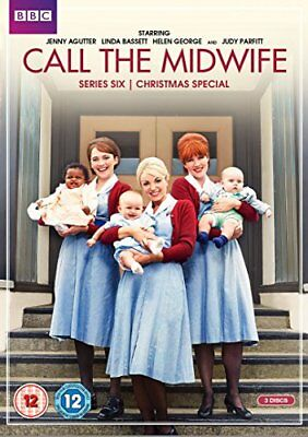 Call The Midwife - Series 6 [DVD] [2017][Region 2] • 12£