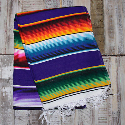 Mexican Stripey Blanket - Purple • 32£