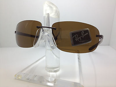 5b27bc1d4a Authentic RAY BAN SUNGLASSES RB8303 8303 014 83 TECH FRAMELESS • 118.88