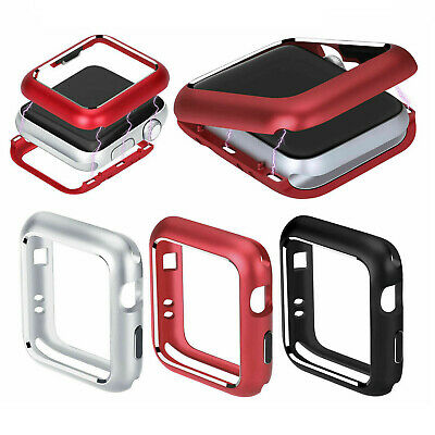 $ CDN14.39 • Buy Magnetic Metal Case For Apple Watch Series 6 5 4 SE 44/40mm Protect Cover Bumper