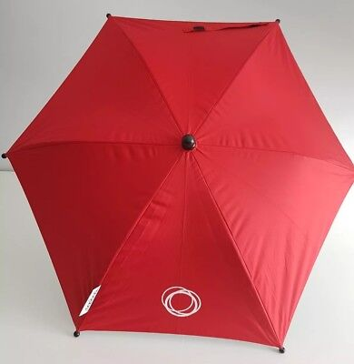 Bugaboo Parasol In Red With Clip #1 & #2 • 20£