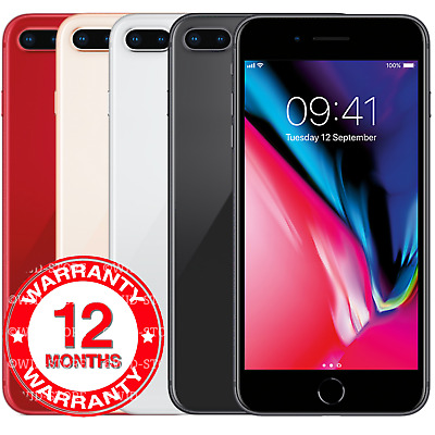Apple IPhone 8 Plus - 64GB 256GB - Unlocked Smartphone Various Colours Grades  • 279.95£