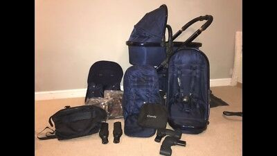 Icandy Midnight Edition With Cybex Car Seat And Hugo Boss Changing Bag • 650£