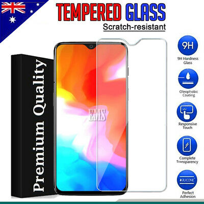 AU5.95 • Buy 2X Tempered Glass LCD Screen Protector Film Guard For OnePlus 5 6 6T