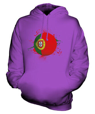 Portugal Football Unisex Hoodie Top Gift World Cup Sport • 34£