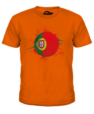 Portugal Football Kids T-shirt Tee Top Gift World Cup Sport • 18£