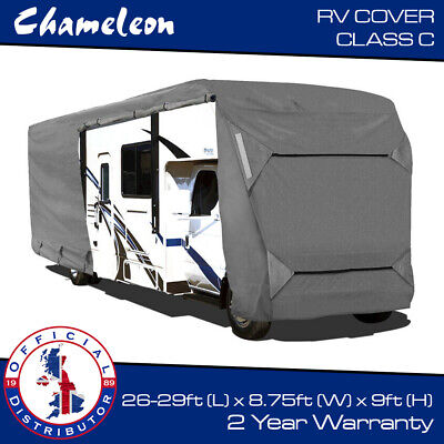 Premium Motorhome Cover CLASS C RV | 8 To 9m | 7x Zips, 4 Air Vents, 160gsm • 236.55£