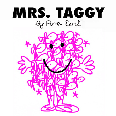 £200 • Buy Pure Evil - Mrs Taggy - Signed - Limited Edition - Screenprint