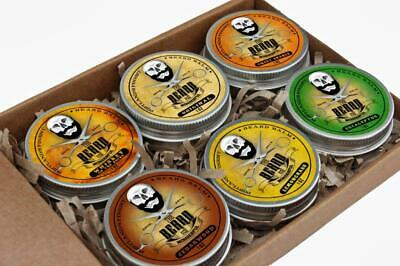 Beard Balm Ultimate Collection 6 Tins X 30ml - All Natural Organic Ingredients • 22.95£