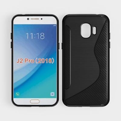 S-Gel Wave Tough Shockproof Phone Case Gel Cover Skin For Samsung Galaxy J2 Pro • 2.49£