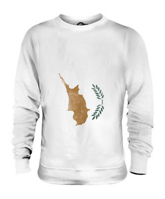 £34 • Buy Cyprus Faded Flag Unisex Sweater Top Kypros Football Cypriot Gift Shirt