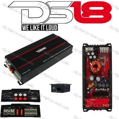 $ CDN369.12 • Buy DS18 CANDY X5B 5 Channel Car Stereo Amplifier 2000W Max Class D Speaker Sub Amp