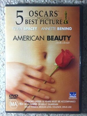 AU5 • Buy American Beauty - Kevin Spacey - Like New R4 DVD
