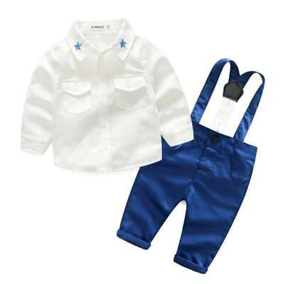 £19.99 • Buy Baby Boy Suit Smart Wear Outfit Suit Baby Boy Set Special Occasion