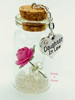 Daughter In Law Little Treasure ~ Small Gift Keepsake ~  Birthday ~ Any Occasion • 3.99£