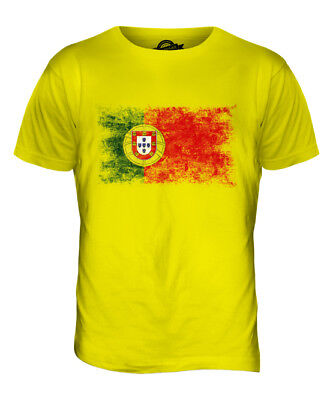 £23.02 • Buy Portugal Distressed Flag Mens T-shirt Top Portuguese Shirt Football Jersey Gift