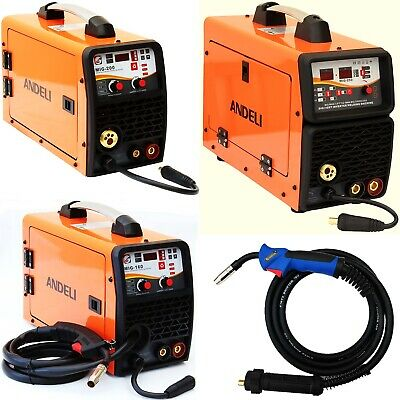 160a, 200a, 250a Mig/mag/flux/lift Tig/mma 5 In 1 Dc Inverter Welder Gas/gasless • 188.99£