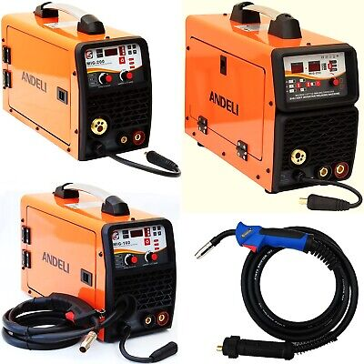 160a, 200a, 250a Mig/mag/flux/lift Tig/mma 5 In 1 Dc Inverter Welder Gas/gasless • 228.99£