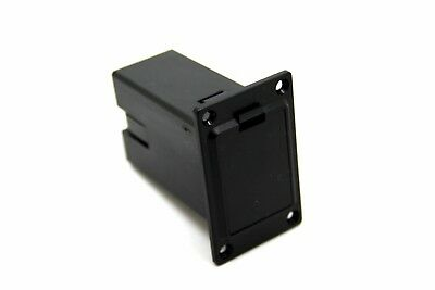 £3.97 • Buy 9V Battery Box Holder Case Compartment Cover Vertical For Acoustic Guitar