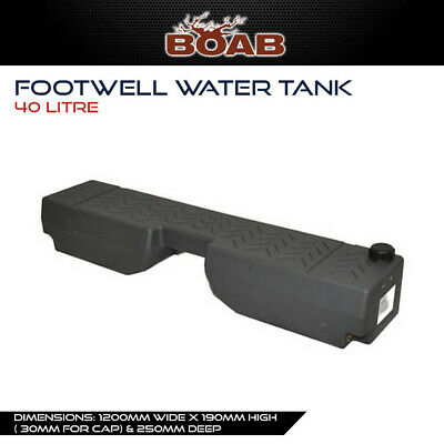 AU235 • Buy Poly Footwell Water Tank 40L Litre 4WD Wagon Ute 4X4 Offroad Touring Camping