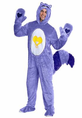 $44.98 • Buy Care Bears & Cousins Adult Bright Heart Raccoon Costume
