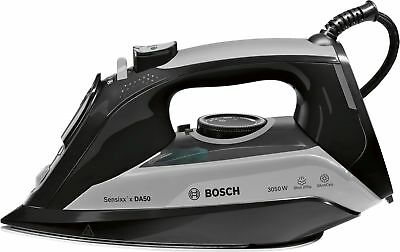View Details Bosch Steam Iron Sensixx 3050W In Black And Grey With 2.5m Cord   TDA5085GB  • 32.99£