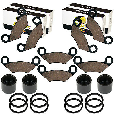 AU71.19 • Buy Front And Rear Brake Caliper Piston W/Pads For Polaris Atp 330 500 4X4 2004-05
